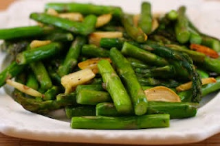 Roasted Asparagus with Garlic | Recipe