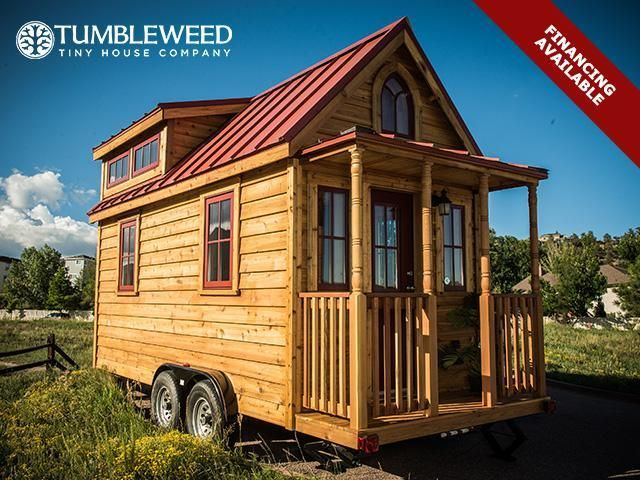 Tumbleweed Tiny House with Dormers Home Pinterest