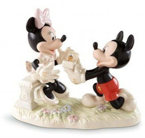 Lenox Minnie's Dream Proposal Disney Mickey Wedding