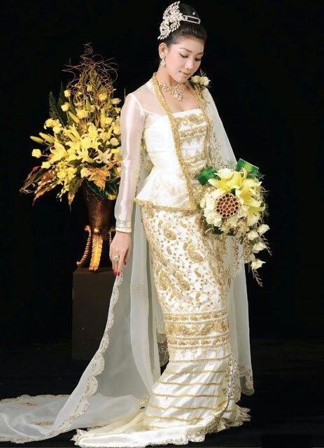 Image Traditional Burmese Wedding Dress Download