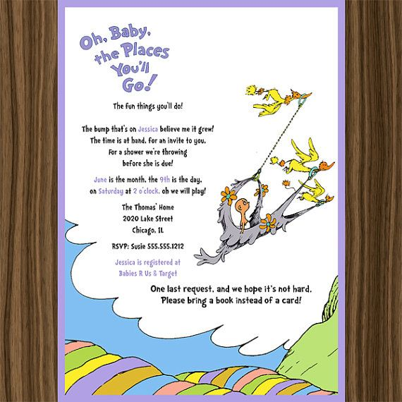 dr seuss oh baby the places you 39 ll go baby by photodesignz