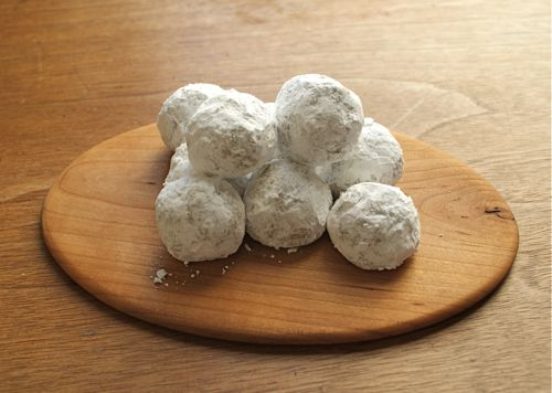 Walnut Snowballs Cookies - Recipe for Walnut Snowballs Cookies