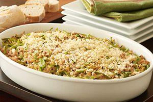 Crispy Rice And Turkey Casserole Recipe — Dishmaps