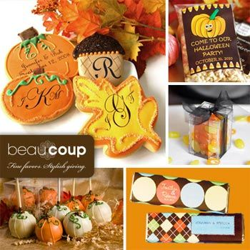Fall party favors and ideas