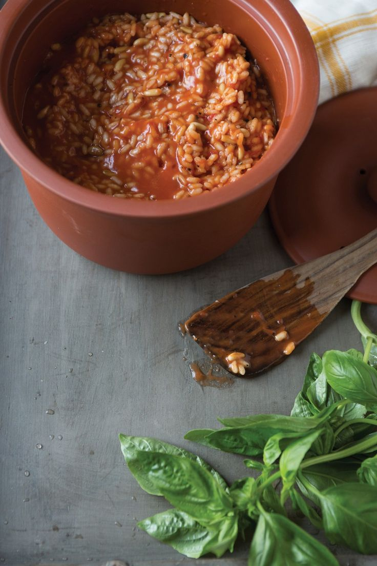 Rice-Cooker Risotto Recipe | Food - veggie mains | Pinterest