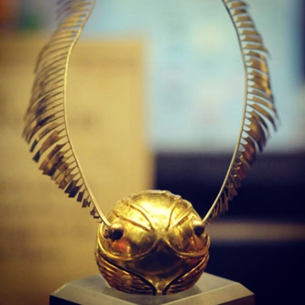 Golden Snitch The Wizarding World Of Harry Potter
