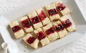 Split-Second Jam Cookies   Sweet Stuff   Pinterest