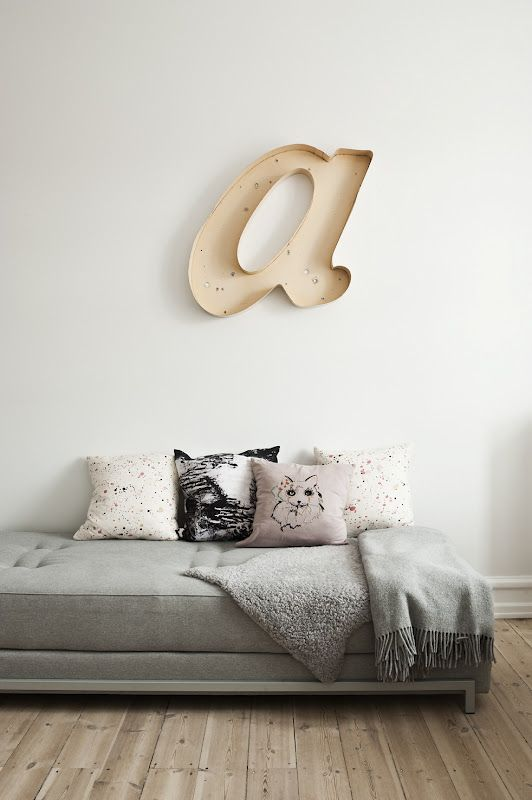 A *wall letters
