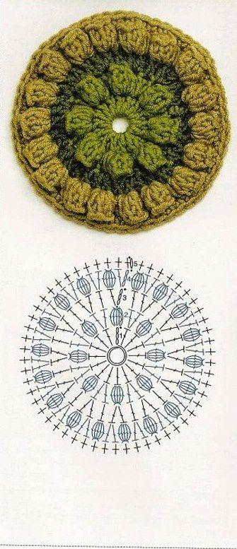 Crochet Doily - Chart  4U // hf
