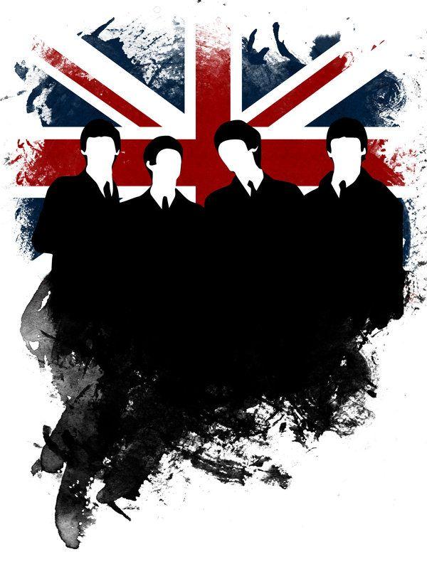Beatles The Logo Vector