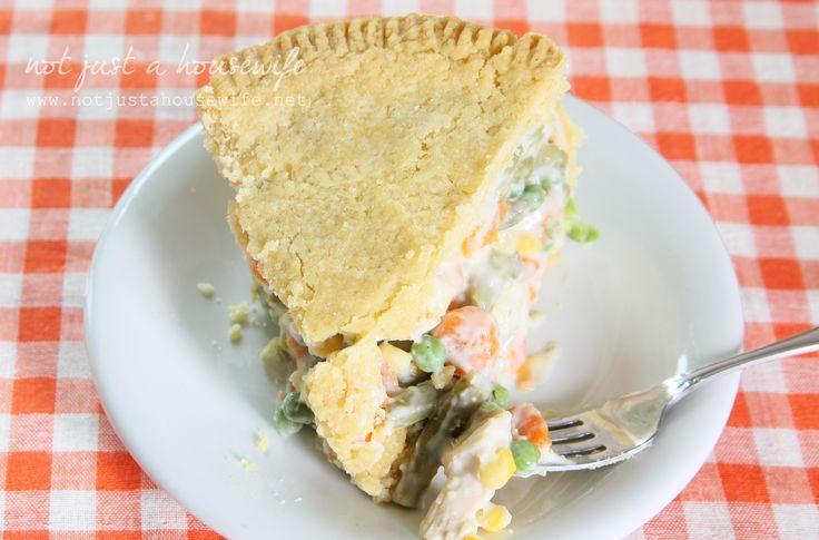 Deep Dish} Chicken Pot Pie
