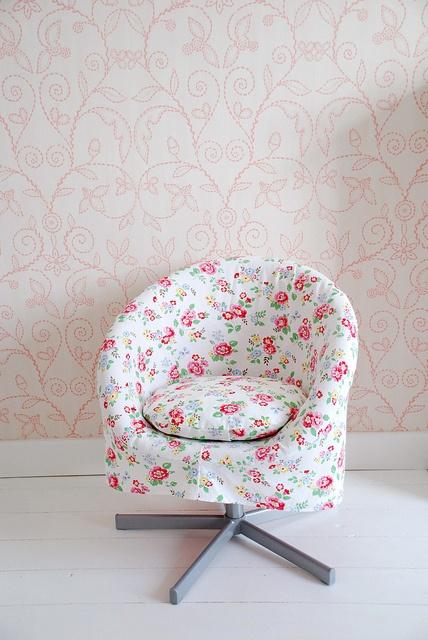 New Slipcover for skruvsta chair by yvestown