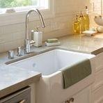 Farmhouse Sink Mounting Options : Farmhouse Sink - under mount Boca Grande Rehab - Kitchen Pinterest