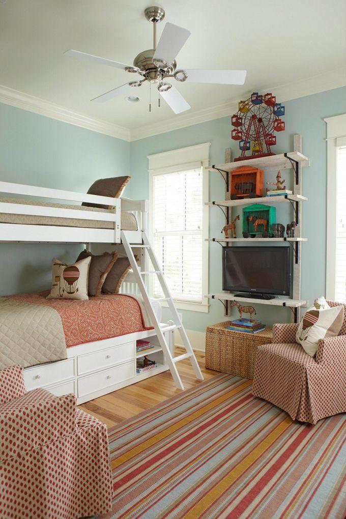 bunk bed & rug