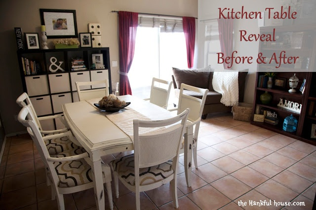 DIY Kitchen Table Redo Chalk Paint Furniture Makeovers Pinterest