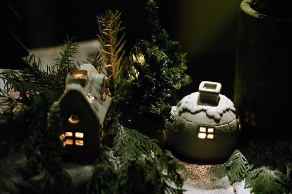 fairy candle houses