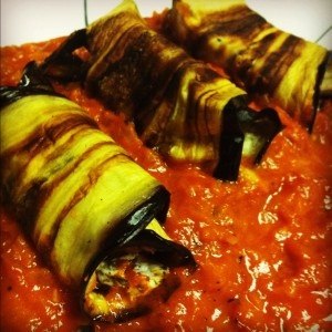 Eggplant Cannelloni Recipe | Recipes to try | Pinterest