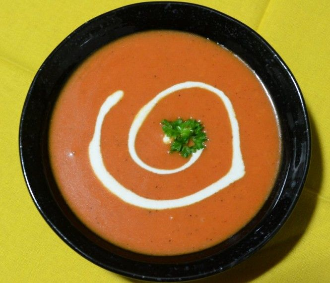Cream Of Tomato Soup | Food And Drinks | Pinterest