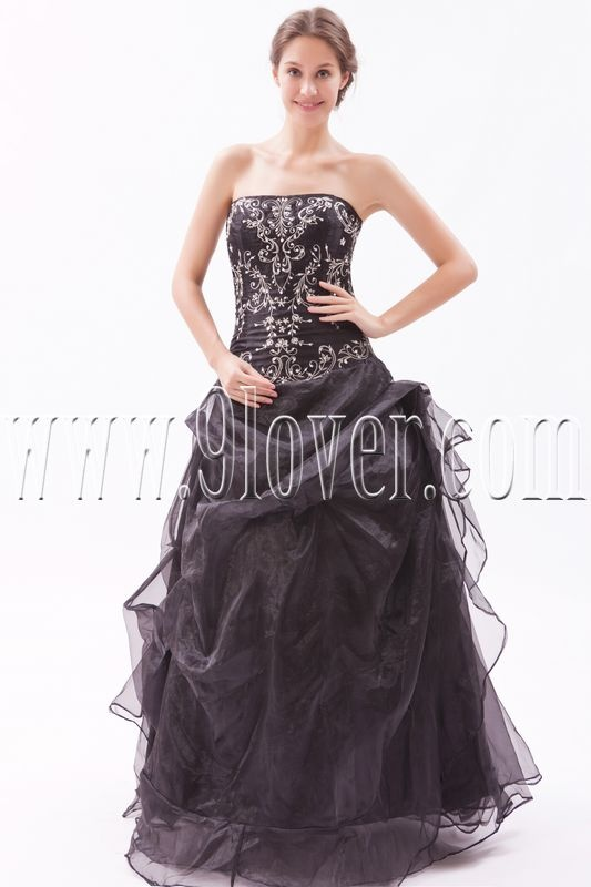 Elegant Black Wedding Dress G8115 Boudoir Pinterest