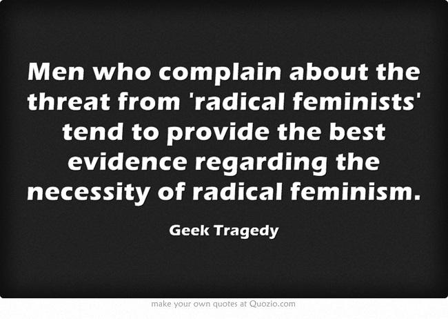 what is radical feminism pdf