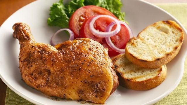 trio of Cuban favorites--lime, garlic, and cumin--flavors this chicken ...