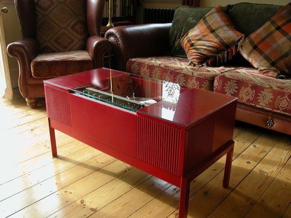 Record Player Coffee Table Furniture And Design Pinterest
