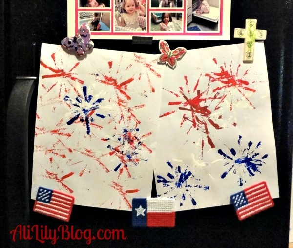 4th of july pipe cleaner crafts