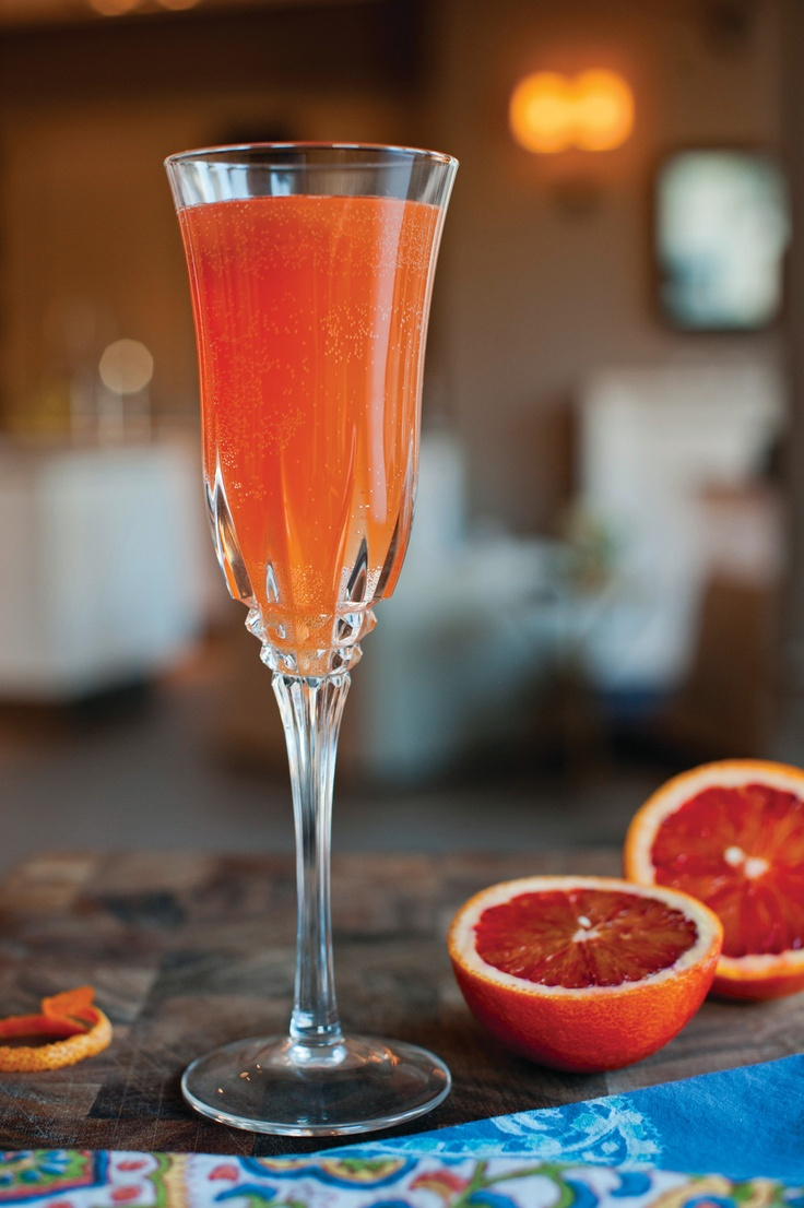 Cocktail Revival Blood Orange Mimosa Recipes by Matt Moore Photo by ...