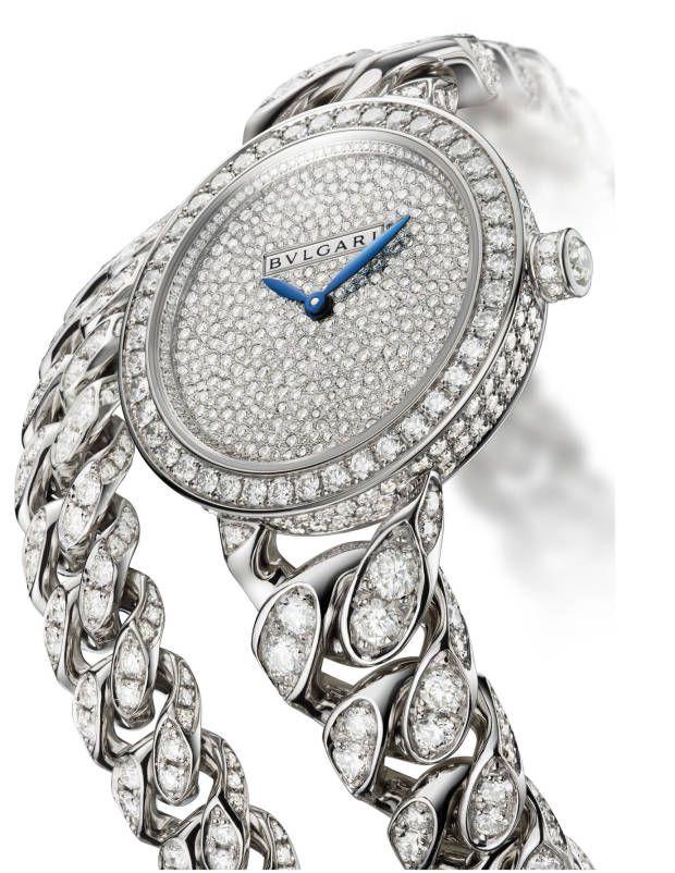 Bulgari diamond watch