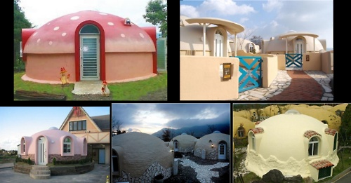 Japanese Dome Homes Favorite Places Spaces Pinterest