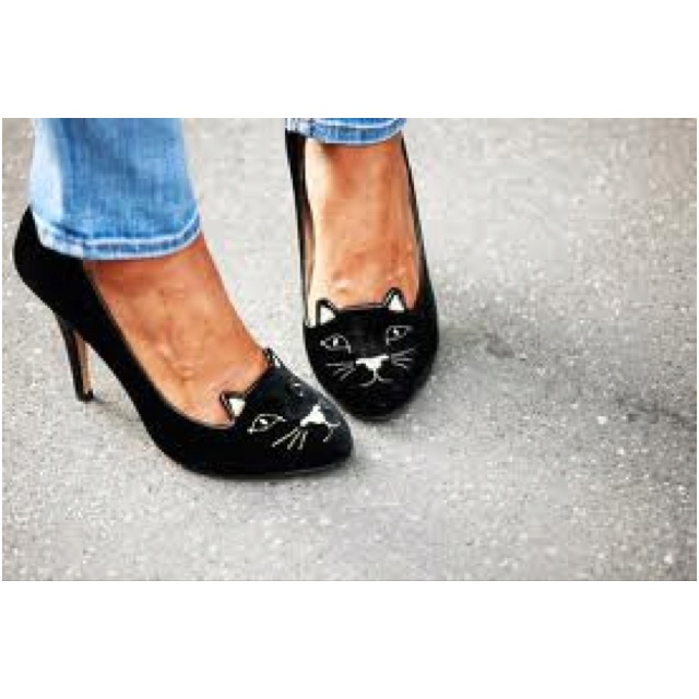 Charlotte Olympia cat shoes