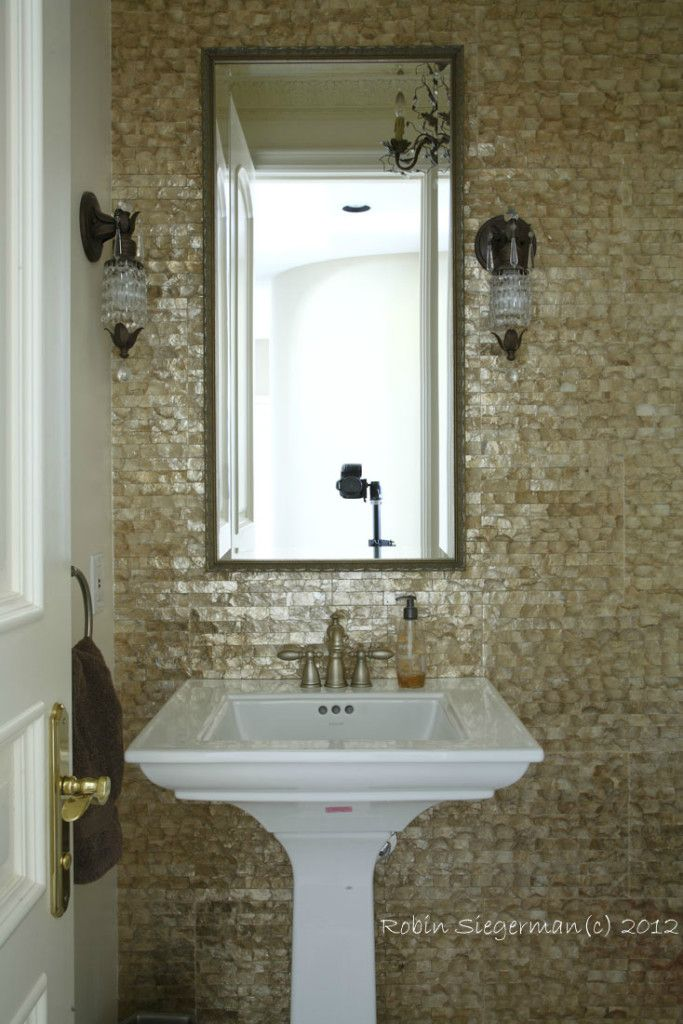 After The Powder Room Remodel Handy Tips Pinterest