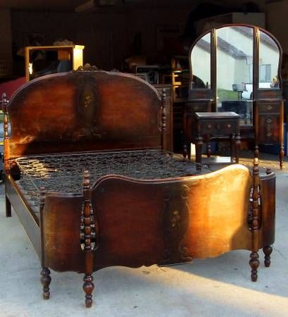 antique bedroom set pretty things for the home pinterest