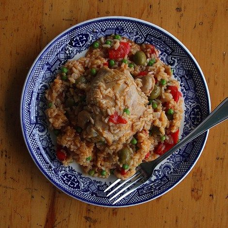 Arroz con Pollo... | Food Food oh yeah and Food | Pinterest