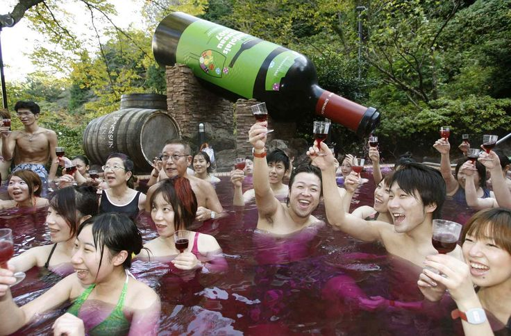 This Japanese Spa Lets You Swim In a Pool of Red Wine forecasting