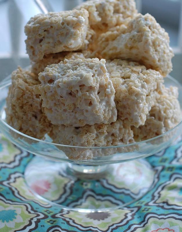 Salted Brown Butter Crispy Treats Recipe — Dishmaps