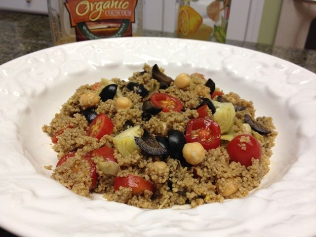 Mediterranean Couscous Salad – #SundaySupper to Celebrate Heritage