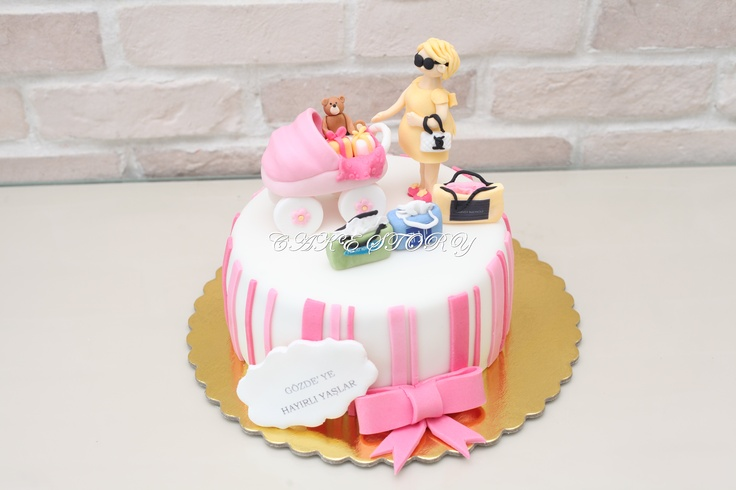baby shower cakes baby cakes cupcakes pinterest