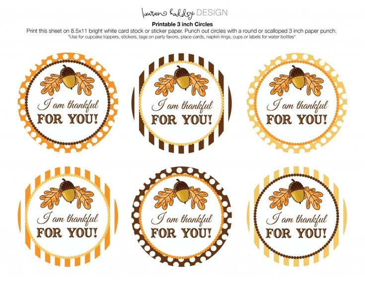 Thankful tag-free thankful for you printable tags for teachers gifts ...