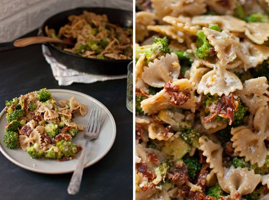 Spicy Sun-Dried Tomato and Broccoli Pasta | Recipe