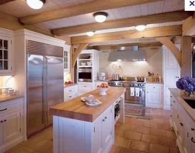 Post and beam kitchen by eddie modern pdx bungalow ideas for Post and beam kitchen ideas