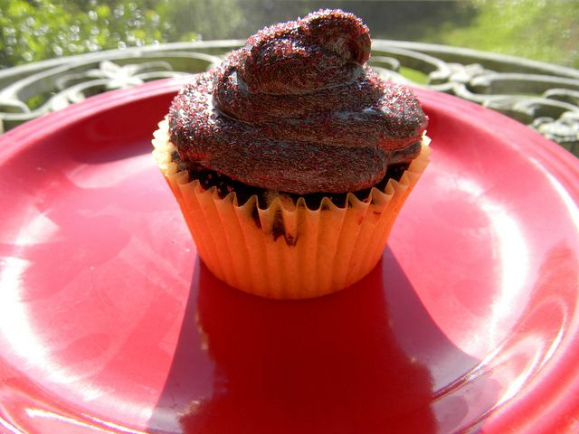 Vegan Cupcakes Take Over the World  chocolate
