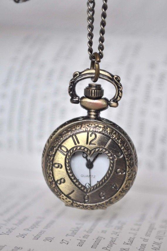 Timeless Love pocket watch ($23)