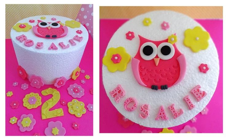 B Day Cake Decoration : First B-day Cake Ideas 40887 Pin By Cindy C On OWL B Day D