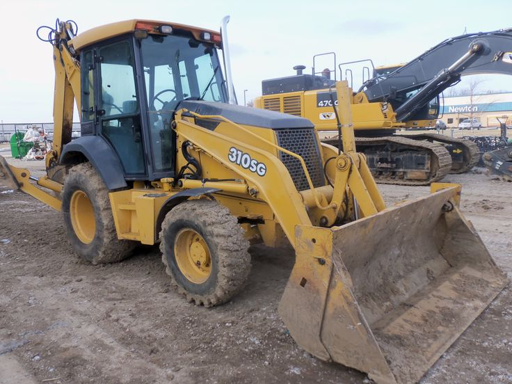 Used Backhoe Seats : Deere sg used for sale at
