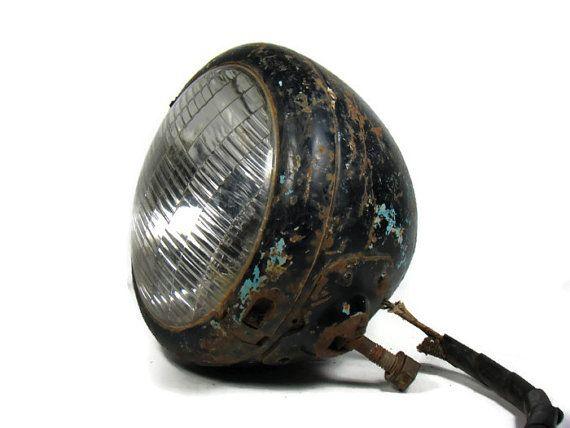 Antique Automobile Headlamps : Antique car headlight