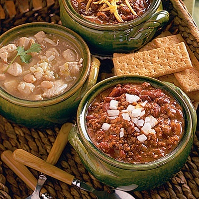 Ground Beef Recipes: Red Bean Chili crockpot-my-best-friend