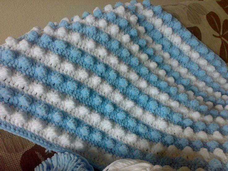 Crochet Bubble baby blanket Crochet Pinterest