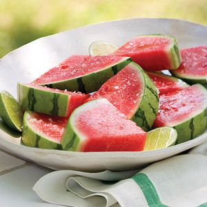Margaritas in solid form, these tequila-soaked watermelon wedges ...