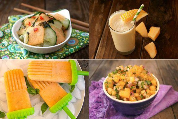 Kiss Melon Recipes: Golden Kiss Melon Sunomono Cucumber Salad Honey ...